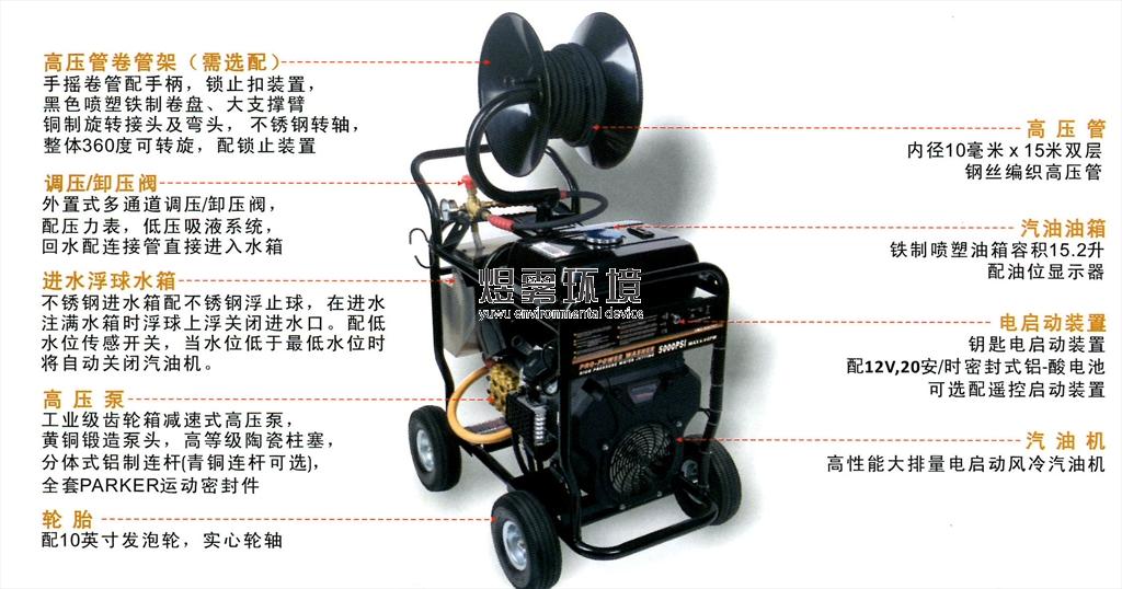 冷水高压清洗机3wz-5007gt
